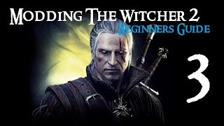 Witcher 2 - Beginners Guide to Modding 3 - Medallion Cooldown Reduced and RED Tools