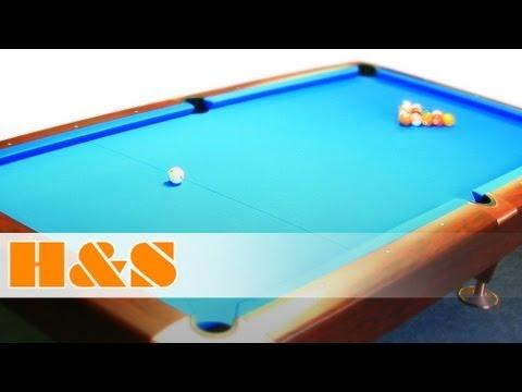 Zeitraffer Billard München - Billardtisch kaufen bei H&S - Time Lapse Pool Table