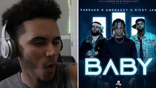 (Reaccion) Baby - Nicky Jam X Farruko X Amenazzy ( Video Oficial )