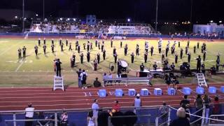"""""""Vacant"""" - DVHS Marching Band - Dream Theater  (09-16-2010)"""