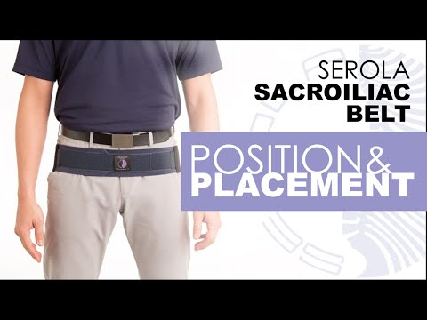 Serola Belt Instructions - Positioning & Placement