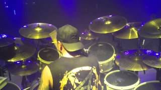 "ANTHRAX w/Jason Bittner on drums ""THE DEVIL YOU KNOW"" Hartford, CT 10/4/12"