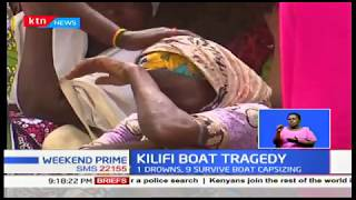 Kilifi Boat Tragedy: 1 drowns, 9 survive boat capsizing; Wooden boat flipped by waves