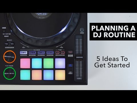 How To Prepare A DJ Set – 5 Ideas For Your Next Mix or Routine