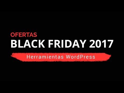 📢 Ofertas Black Friday y Cyber Monday 2017  en Plugins, Plantillas y Hosting