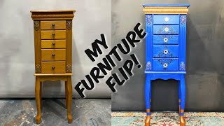 Dresser Makeover With DIY PAINT -from Vintage Makeovers W/Melanie