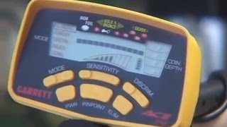 Металлоискатель Garrett ACE 250, видео обзор