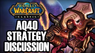 AQ40 Boss & Strategy Discussion w/ Ayle & Bel | Classic WoW