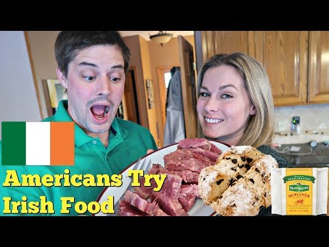 Americans Try Cooking Irish Food