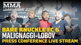 Bare Knuckle FC 6: Paulie Malignaggi vs Artem Lobov Press Conference- MMA Fighting