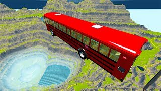 Leap Of Death Car Jumps & Falls #11 BeamNG drive