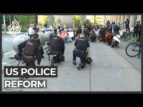 Police forces across US promise reform