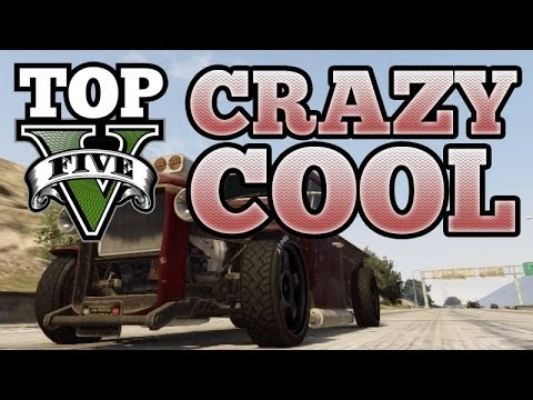 GTA V Top 5 Crazy Cool Custom Cars (Phoenix, Sandking, Futo, Rebel, Rat Loader)
