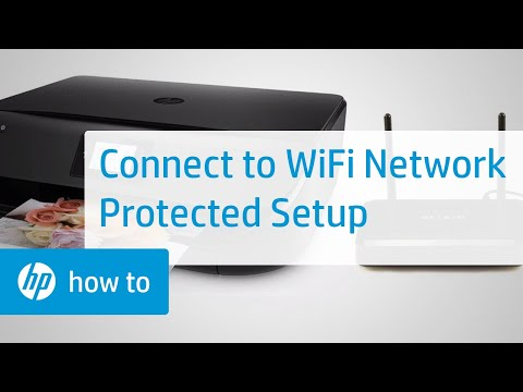 How To Connect an HP Printer to a Wireless Network Using Wi-Fi Protected Setup