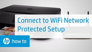 Connect an HP Printer to a Wireless Network Using Wi-Fi Protected Setup | HP Printers | HP