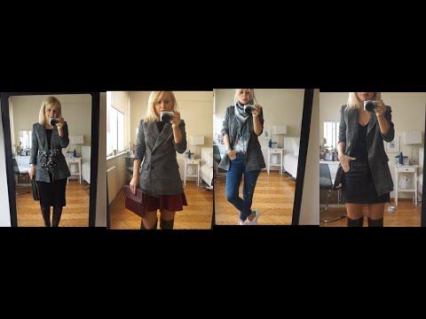 Ekose Blazer Ceketimi Hangi Parçalarla Kombinliyorum