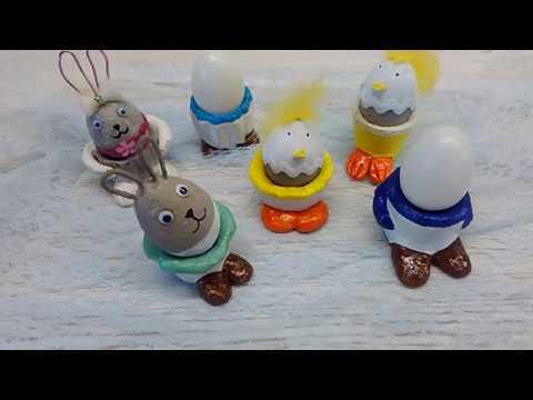 Beton DIY Ostern lustige Eierbecher ;-)