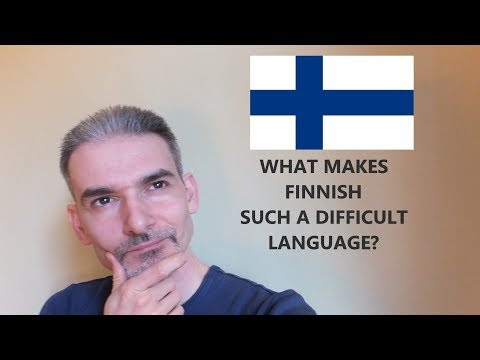 Why is the Finnish language so hard? What is easy in Finnish? | Miksi suomi on niin vaikea kieli?