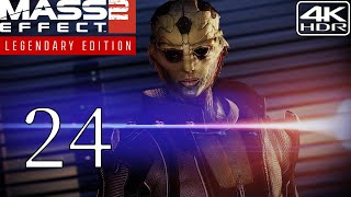 Mass Effect 2  Walkthrough Gameplay and Mods pt24  The Assassin 4K 60FPS HDR Insanity