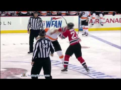 Jody Shelley vs Eric Boulton