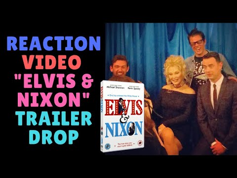 """Reaction Video for """"Elvis & Nixon"""" Trailer Drop / I co-wrote the Screenplay!"""