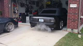 1987 Mustang GT Convertible Supercharged - The Infamous Project