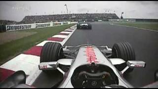 2007 French GP- Alonso vs. Heidfeld, fuel rig woe