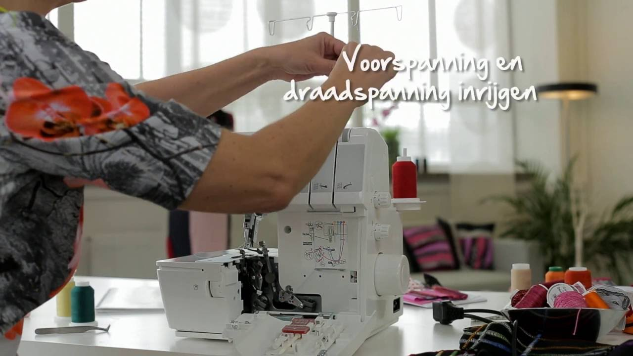 BERNINA L 460: instructievideo 4/8