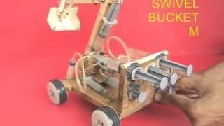 JCB TRUCK Demo based on hysrolic technology- mech. project