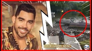 Morre Cantor Gabriel Diniz Do Hit Jenifer - Veja Momento Do Resgate Ao Vivo