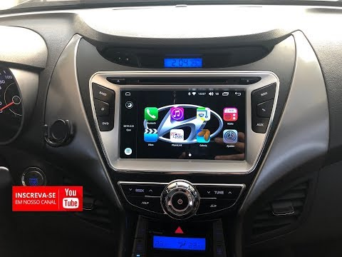 Hyundai Elantra / Central Multimidia Android 8.1