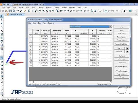 Interactive Database Editing