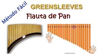 APRENDA A TOCAR FLAUTA DE PAN GREENSLEEVES