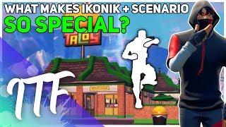 What Makes IKONIK And SCENARIO So Unique? (Fortnite Battle Royale)