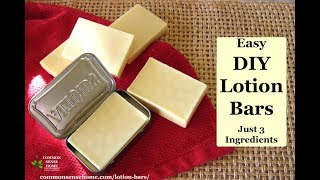 How To Make Lotion Bars