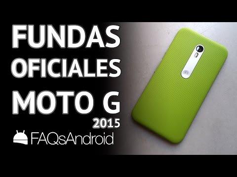 Motorola Moto G 2015: fundas y carcasas oficiales