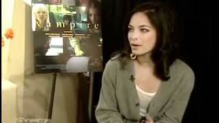 """Кристин Кройк, Интервью для eTalk о """"Вампир"""""""