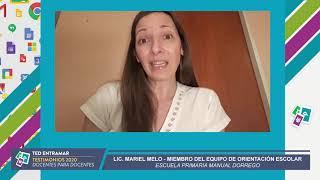 Lic. Mariel Melo, Escuela Manuel Dorrego