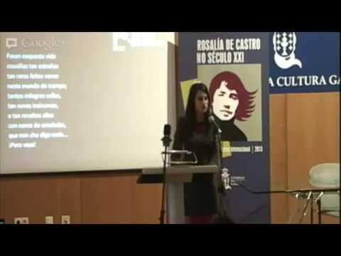 Yolanda Castaño. Recital Cantares para Rosalía