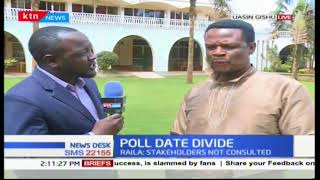 Kakamega Jubilee chair reacts to the set October 17th date