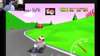 """SgtRaven - Mario Kart 64 Royal Raceway 3 Lap PAL 2'56""""12 (NTSC: 2'26""""47)"""