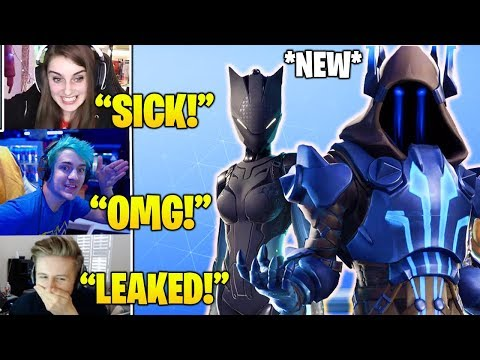 Streamers Reacts To New Season 7 Battle Pass Skins Leaked