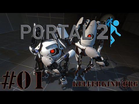 Portal 2 Co-Op [HD] #001 – Ich kann Dinge schießen ★ Let's Play Portal 2