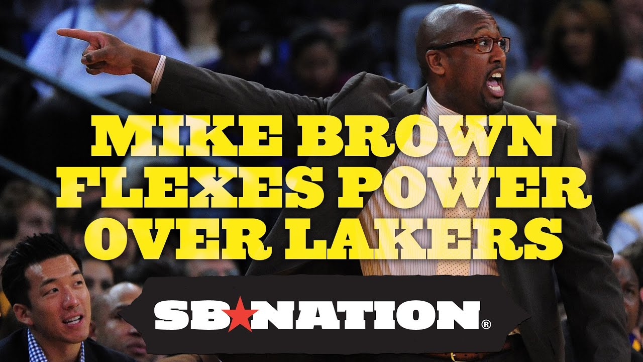 Mike Brown Flexes Power Over Lakers thumbnail
