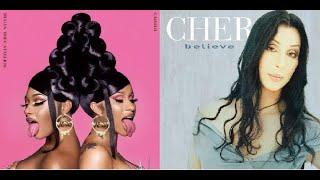 Cher vs. Cardi B & Megan Thee Stallion - Believe in WAP (Mashup)
