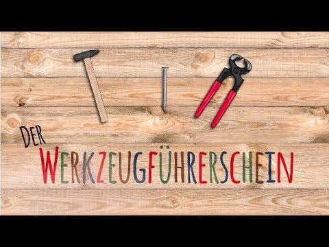 Werkzeugführerschein - Hämmer und Zangen