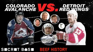 How one violent hit snowballed into years of championship-grade hockey beef | Red Wings vs Avalanche