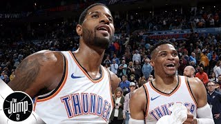 What should Russell Westbrook do following Paul George's exit from the Thunder? | The Jump