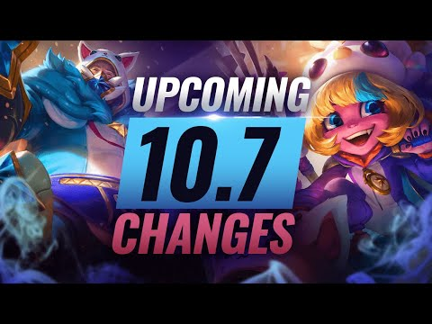 MASSIVE CHANGES: New Buffs & REWORKS Coming in Patch 10.7 - League of Legends