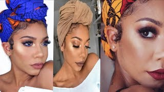 HOW TO STYLE TURBANS AND HEAD WRAPS + 4 TO 5 DIFFERENT STYLES